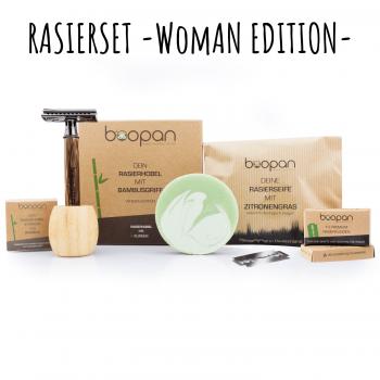 Boopan | Rasierset Woman Edition
